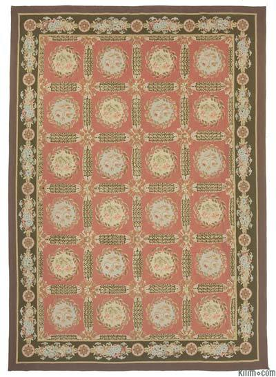 "Aubusson Rug - 10' 3"" x 14' 5"" (123 in. x 173 in.)"