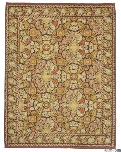 "Aubusson Rug - 9' 1"" x 11' 10"" (109 in. x 142 in.)"