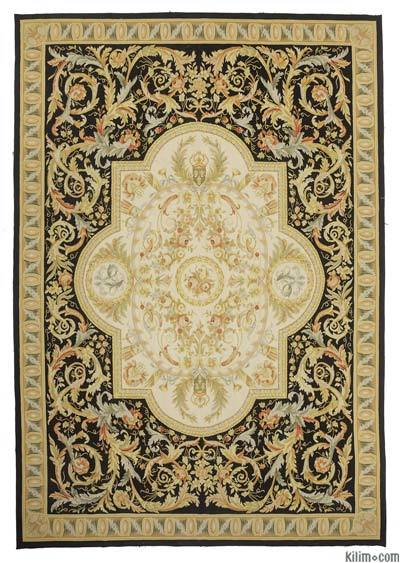 "Aubusson Rug - 9' 11"" x 14' 4"" (119 in. x 172 in.)"