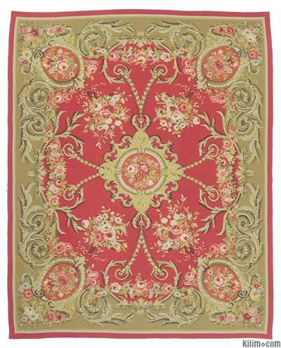 "Aubusson Rug - 8' 7"" x 10' 10"" (103 in. x 130 in.)"