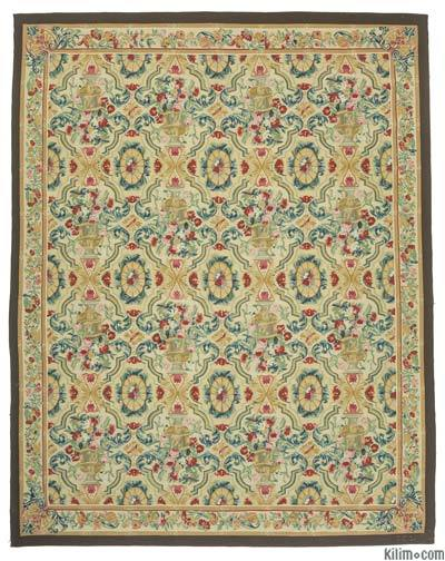 "Aubusson Rug - 8'10"" x 11'3"" (106 in. x 135 in.)"