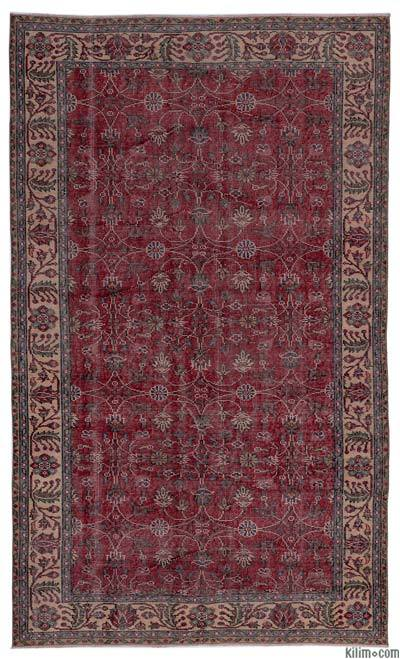 "Turkish Vintage Area Rug - 5'1"" x 8'8"" (61 in. x 104 in.)"