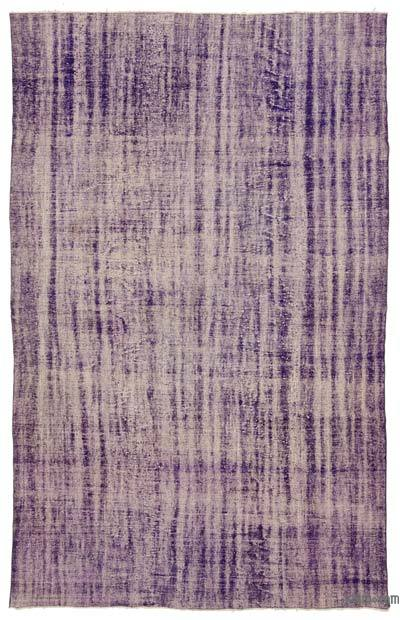 "Over-dyed Turkish Vintage Rug - 7' 10"" x 12' 4"" (94 in. x 148 in.)"