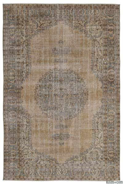 """Turkish Vintage Area Rug - 7'1"""" x 10'8"""" (85 in. x 128 in.)"""
