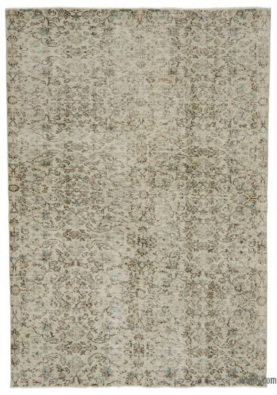 """Turkish Vintage Area Rug - 5' 9"""" x 8' 4"""" (69 in. x 100 in.)"""