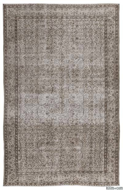 "Over-dyed Turkish Vintage Rug - 5'10"" x 9'2"" (70 in. x 110 in.)"