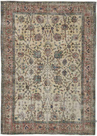 """Turkish Vintage Area Rug - 5' 7"""" x 7' 10"""" (67 in. x 94 in.)"""