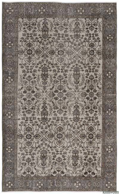 """Turkish Vintage Area Rug - 5'5"""" x 8'9"""" (65 in. x 105 in.)"""