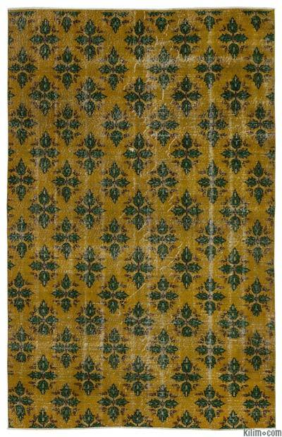 """Turkish Vintage Area Rug - 5'10"""" x 8'10"""" (70 in. x 106 in.)"""