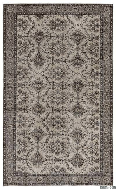 """Turkish Vintage Area Rug - 5' x 8'1"""" (60 in. x 97 in.)"""