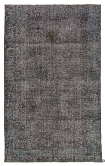 "Over-dyed Turkish Vintage Rug - 6' 4"" x 10' 3"" (76 in. x 123 in.)"