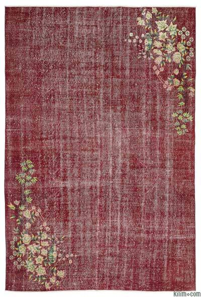 """Turkish Vintage Area Rug - 6' 11"""" x 10' 2"""" (83 in. x 122 in.)"""