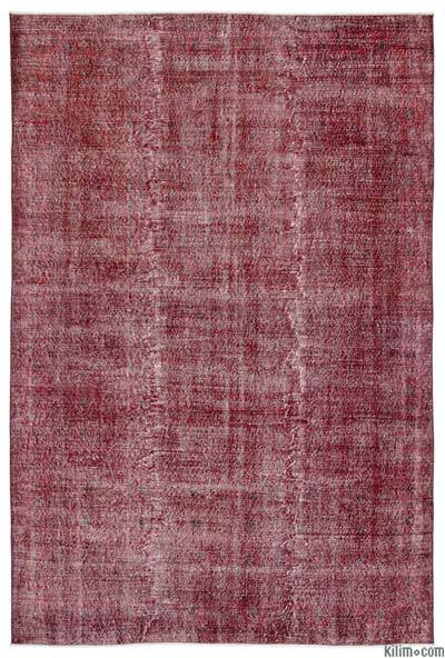 "Over-dyed Turkish Vintage Rug - 7' x 10'5"" (84 in. x 125 in.)"