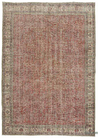 "Turkish Vintage Area Rug - 7' 1"" x 10' 5"" (85 in. x 125 in.)"