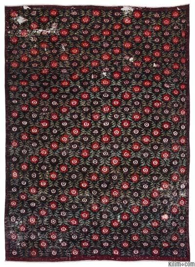 "Turkish Vintage Area Rug - 6'2"" x 8'7"" (74 in. x 103 in.)"