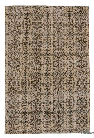"Turkish Vintage Area Rug - 6' 2"" x 9' 2"" (74 in. x 110 in.)"