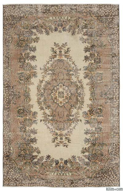"Turkish Vintage Area Rug - 5'11"" x 9'1"" (71 in. x 109 in.)"