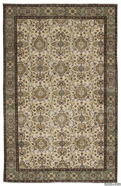 """Turkish Vintage Area Rug - 5'11"""" x 9'3"""" (71 in. x 111 in.)"""