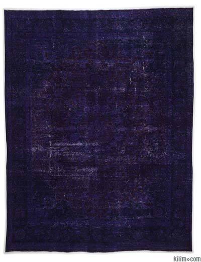 Alfombra Vintage Sobre-teñida - 293 cm x 382 cm