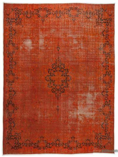"Over-dyed Vintage Hand-knotted Oriental Rug - 9'9"" x 12'11"" (117 in. x 155 in.)"