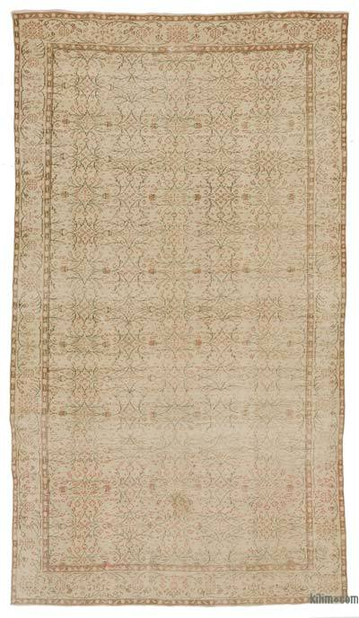 """Turkish Vintage Area Rug - 5'10"""" x 10'5"""" (70 in. x 125 in.)"""