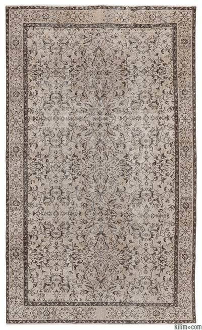 """Turkish Vintage Area Rug - 5'7"""" x 9'7"""" (67 in. x 115 in.)"""