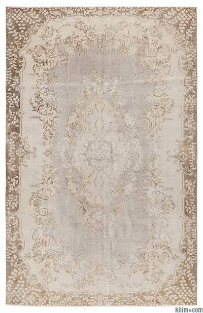"""Turkish Vintage Area Rug - 6' x 9'6"""" (72 in. x 114 in.)"""