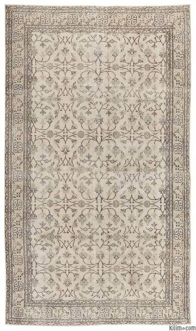 """Turkish Vintage Area Rug - 5'11"""" x 10'3"""" (71 in. x 123 in.)"""
