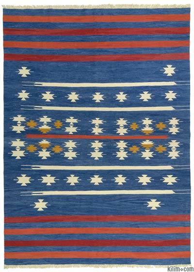 New Handwoven Turkish Kilim Rug