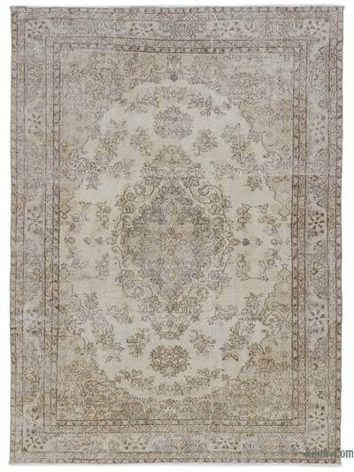 "Turkish Vintage Area Rug - 6' 9"" x 9' 6"" (81 in. x 114 in.)"
