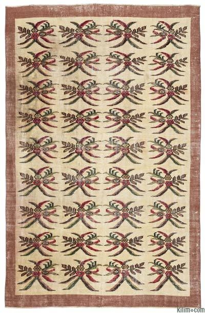 """Turkish Vintage Area Rug - 5'11"""" x 8'10"""" (71 in. x 106 in.)"""