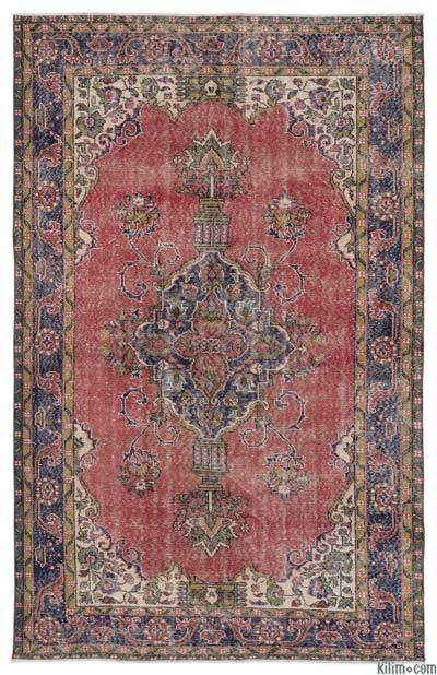 "Turkish Vintage Area Rug - 6'1"" x 9'3"" (73 in. x 111 in.)"