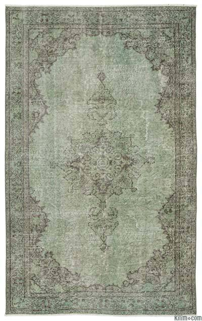 """Over-dyed Turkish Vintage Rug - 5' x 8'3"""" (60 in. x 99 in.)"""