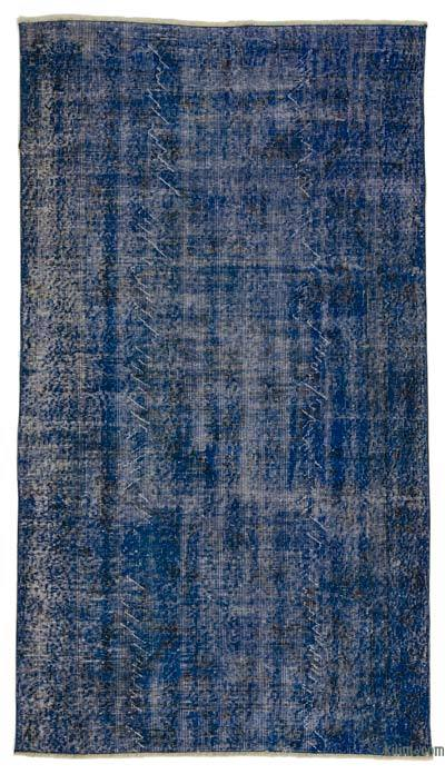 "Over-dyed Turkish Vintage Rug - 3'10"" x 6'10"" (46 in. x 82 in.)"