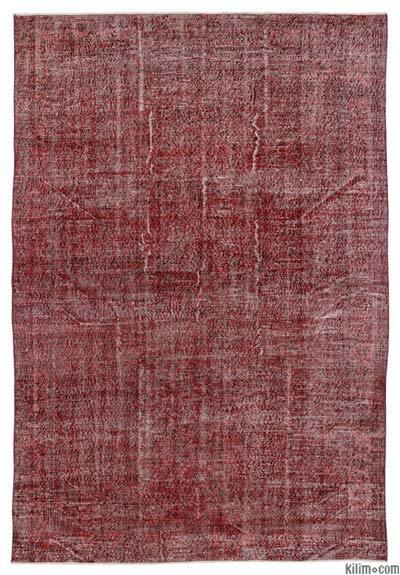 Alfombra Turca Vintage Sobre-teñida - 215 cm x 315 cm