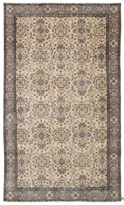 "Turkish Vintage Area Rug - 5' 7"" x 9' 4"" (67 in. x 112 in.)"
