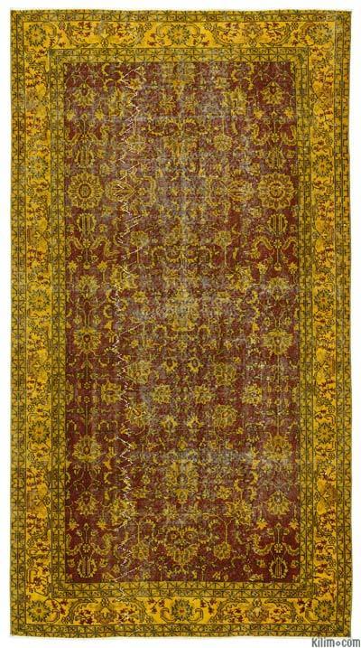 El Dokuma Vintage Halı - 152 cm x 280 cm