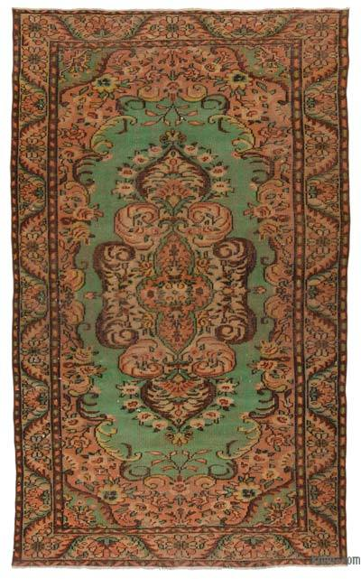"""Vintage Turkish Hand-Knotted Rug - 5' 9"""" x 9' 11"""" (69 in. x 119 in.)"""