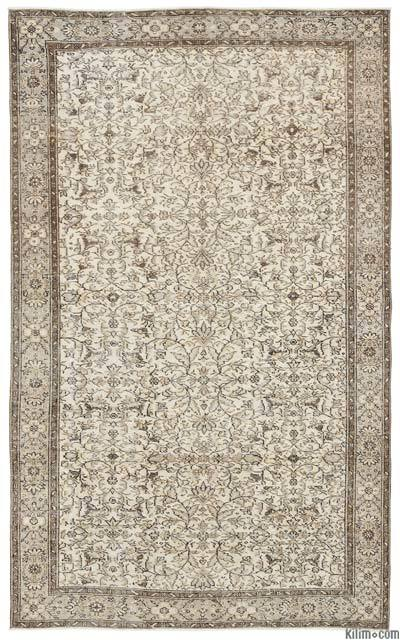 """Turkish Vintage Area Rug - 5'9"""" x 9'3"""" (69 in. x 111 in.)"""
