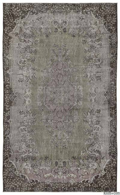 """Turkish Vintage Area Rug - 5'11"""" x 9'7"""" (71 in. x 115 in.)"""