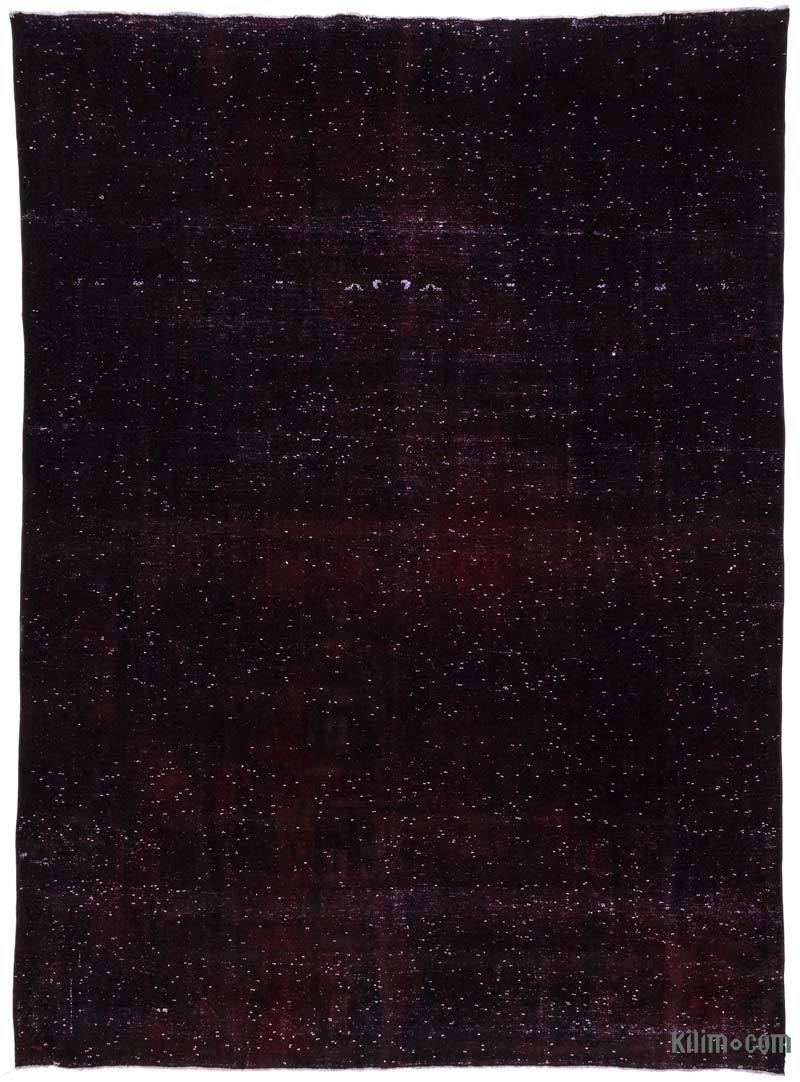 """Red Over-dyed Vintage Hand-Knotted Oriental Rug - 9' 7"""" x 13'  (115 in. x 156 in.) - K0013211"""