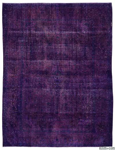 "Over-dyed Vintage Hand-knotted Oriental Rug - 9'6"" x 12'6"" (114 in. x 150 in.)"