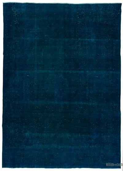 """Over-dyed Vintage Hand-knotted Oriental Rug - 9'7"""" x 13'1"""" (115 in. x 157 in.)"""