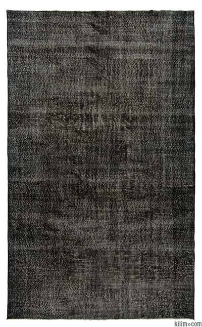 "Over-dyed Turkish Vintage Rug - 6' 2"" x 10' 4"" (74 in. x 124 in.)"