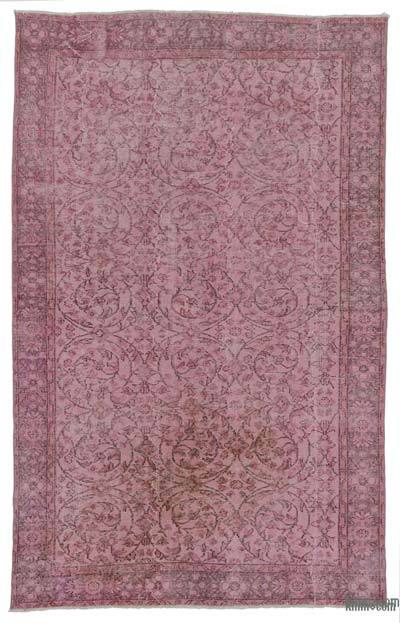 "Over-dyed Turkish Vintage Rug - 5'1"" x 8'4"" (61 in. x 100 in.)"