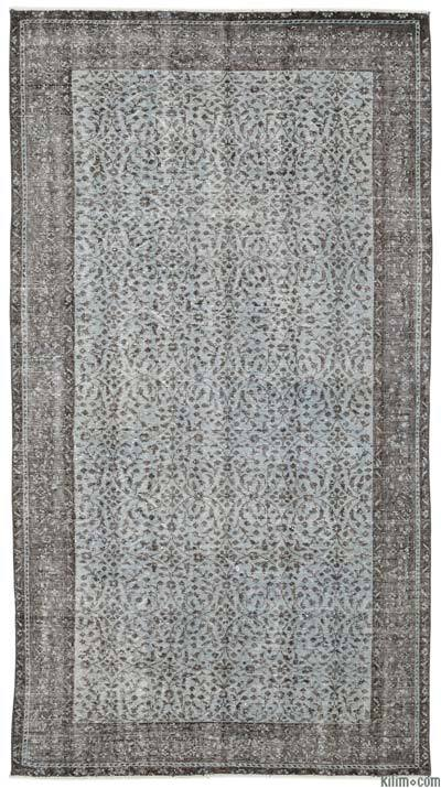 """Turkish Vintage Area Rug - 4'11"""" x 8'11"""" (59 in. x 107 in.)"""