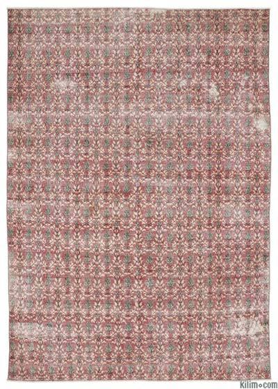 El Dokuma Vintage Halı - 200 cm x 287 cm