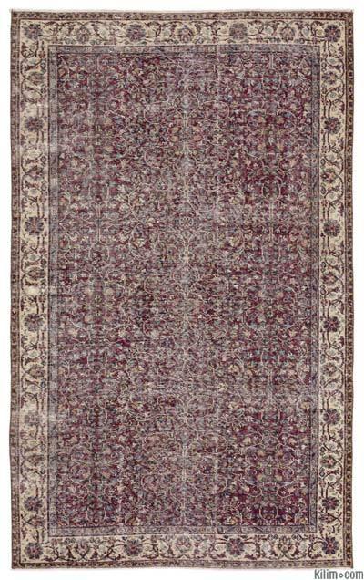 El Dokuma Vintage Halı - 157 cm x 253 cm