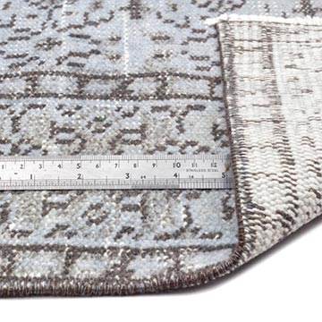 """Vintage Turkish Hand-Knotted Rug - 5' 2"""" x 8' 9"""" (62 in. x 105 in.) - K0013739"""