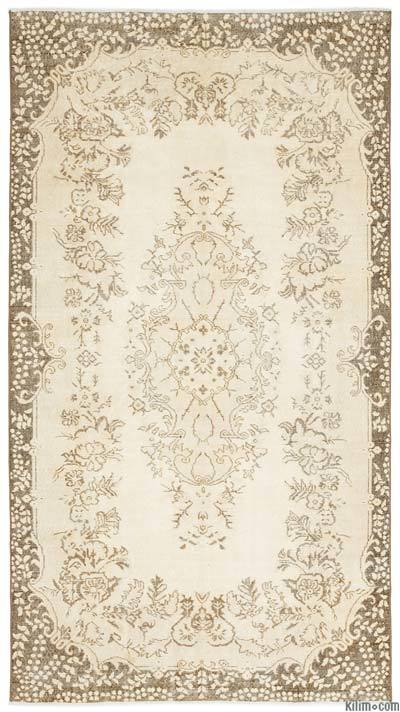 "Over-dyed Turkish Vintage Rug - 5'6"" x 9'11"" (66 in. x 119 in.)"